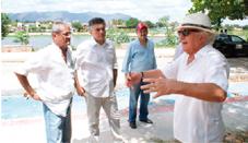... do Secretário de Cultura e Turismo, Campelo Costa.