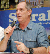 Ciro Gomes fará a abertura do Seminário
